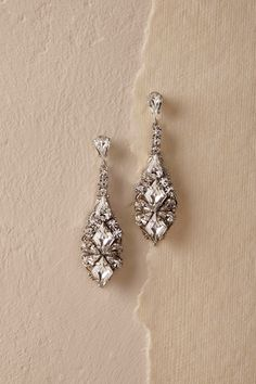 Salvador Drop Earrings from @BHLDN