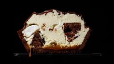 Rocky Road Ice Cream Pie Recipe | Bon Appetit