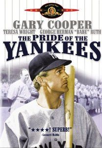 The Pride of the Yankees(1942): Gary Cooper - This was super good! Sad ending .. will make you cry.