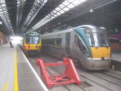 Connolly Station Dublin Rail Train, Locomotive, Dublin, Trains, Transportation, Irish, Street, Platforms, Ireland