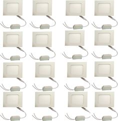 Galaxy Galaxy 6 watt Led panel light Square,Cool white with 2 years warranty Set of 16 Recessed Ceiling Lamp Price in India - Buy Galaxy Galaxy 6 watt Led panel light Square,Cool white with 2 years warranty Set of 16 Recessed Ceiling Lamp online at Flipkart.com