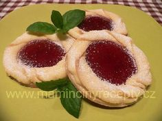 Margaretky - My site Christmas Cookies, Cheesecake, Food And Drink, Cooking Recipes, Sweets, Anna, Cakes, Food Cakes, Xmas Cookies