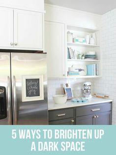 5 Tricks to Brighten Up a Dark Room