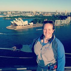 Climbed the Sydney harbour bridge a couple of weeks ago and the views were amazing with a beautiful sunset on the way down  #travels #australia #sydney #sydneyharbourbridge #bridgeclimbsydney #sozaboutthesweatyface by jennylippiatt http://ift.tt/1NRMbNv