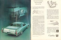1971 Cadillac Coupe deVille Advertisement Time Magazine January 18 1971 | by SenseiAlan