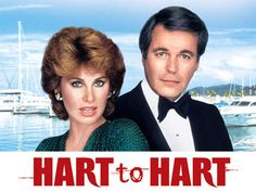 "Jennifer Hart (Stephanie Powers) Jonathan Hart (Robert Wagner)  Hart To Hart was a 60 minute crime drama series on ABC about a self-made millionaire and his wife, a freelance investigative journalist,who traveled the world. During their travels, they played amateur detectives and got themselves into pretty serious situations with criminals, including murderers! They always managed to elude serious harm and ""get their man"" in the end though."
