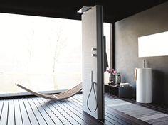 ACQUAPURA Floor standing shower panel by Fantini Rubinetti design Franco…