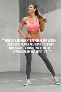 Happy International Women's Day 2017. There is a movement happening for women right now. Women are using their own hands and their own sweat to take responsibility for their life - Karina Elle.