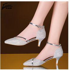 9e3e594e96f Encontrar Más Bombas de las mujeres Información acerca de Zapatos mujer  sexy tacones altos zapatos de