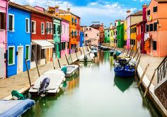Travel Inspiration: Burano, a Fishing Village in Italy Places In Europe, Places To Visit, Popular Italian Food, Italy Honeymoon, Living In Italy, Colourful Buildings, Northern Italy, Fishing Villages, Venice Italy