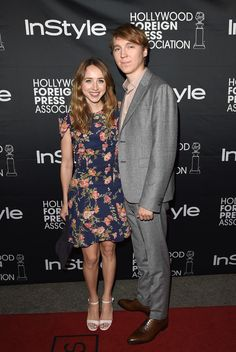 Zoe Kazan and Paul Dano attend HFPA & InStyle's 2014 TIFF celebration during the 2014 Toronto International Film Festival at Windsor Arms Hotel on September 6, 2014 in Toronto, Canada.