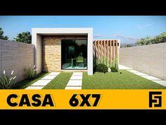 CASA 6X7 / HOUSE 6X7 /RUMAH 6X7 - YouTube Small Loft Apartments, Smart Home, Tiny House, Building A House, Outdoor Decor, Youtube, Mini, Home Decor, Home Plans