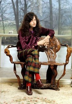 Jimmy Page of legendary super strides fame.
