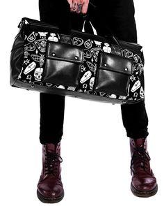 Killstar | Wicked Duffle Bag - Tragic Beautiful buy online from Australia