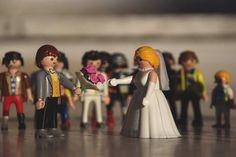Ένας γάμος με Playmobil... έκλεψε τις εντυπώσεις στην Πάτρα! (φωτο)