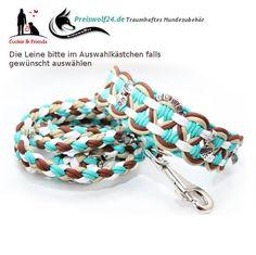 Paracod-Hundehalsband-big-wave-weiss-tuerkis-braun-beige2
