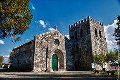 Iglesia de Abade de Neiva, Barcelos.   Turismo en Portugal