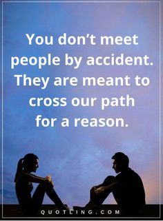 You don't meet people by accident. They are meant to cross our path for a reason Destiny Quotes, Life Hacks, Life Tips, Good Morning, Meant To Be, Funny Quotes, Meet People, Sayings, Memes