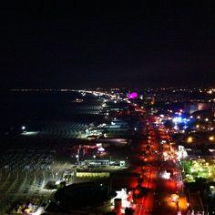@igersbologna Dalla ruota panoramica   Notte Rosa 2014