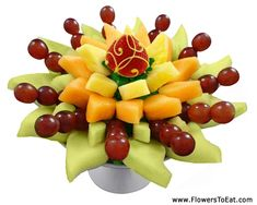Fruit Bouquet.   Love it.