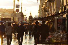 Rain in Saint Petersburg Times Square, Russia, Saints, Street View, Saint Petersburg, Places, Breathe, Travelling, Live