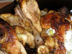 RECIPE FROM SPAIN: Slow Cooked Brandy Chicken