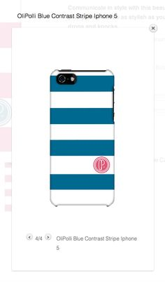 AND its available in blue... Iphone4/4s AND Iphone5 http://www.olipolli.co.uk/product/olipolli-contrast-stripe-phone-case-2/