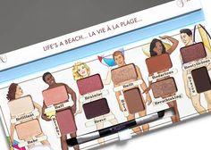 Výsledok vyhľadávania obrázkov pre dopyt nude beach palette swatches