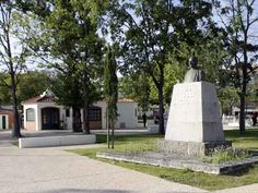 Busto do Dr. Francisco Barbosa, no Jardim Municipal de Rio Maior   Portugal
