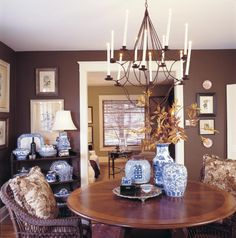 """Splurge or Save:Splurge on a few pieces, save on the rest.Invest in one or two fabulous items, like a piece of art or a high quality sofa, that will be the style setters for the room. Then, she balances her budget with high-look, lower-cost furnishings and accents. I like to call these """"cheater"""" pieces because they look way more expensive than they really are."""