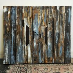 Paint and Stain elevated to high art!  Love it!  @jess_macmillan