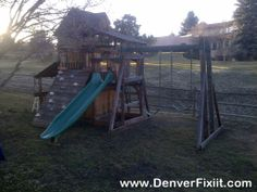 Find This Pin And More On Denver Metrou0027s #1 Swingset/Playset Installers.  Final Destination For The Backyard Adventures ...