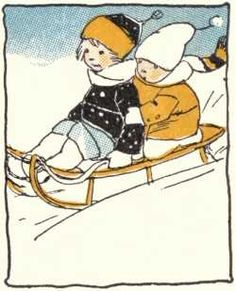 Sled riding in the snow, many a days and nights during the Winter we had so much fun doing this