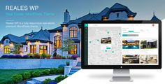 Buy Reales WP - Real Estate WordPress Theme by mariusnastase on ThemeForest. Reales WP is a WordPress premium real estate theme with a modern, clean, intuitive, and fully responsive design, tha. Theme Forest, 1 Real, Free Website Templates, 1 Live, Real Estate Agency, Website Themes, Premium Wordpress Themes, Mobile Responsive, Professional Website