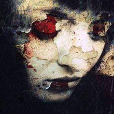 Beautiful Dark Art, A Level Art, Maquillage Halloween, Gothic Art, Face Art, Portrait Art, Figurative Art, Collages, New Art