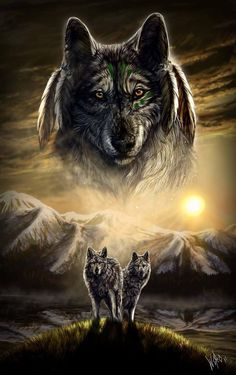 May the wolf spirits guide you.