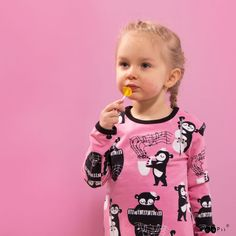 PaaPii Design  VIENO tunic, Rhythm Tunic, Black And White, Children, Pink, Design, Clothes, Fashion, Young Children, Outfits