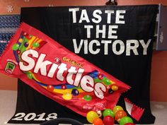 2014 SPIRIT WEEK 8th GRADE idea banner CANDY theme