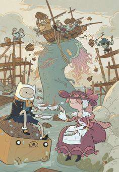 Adventure time - tea time