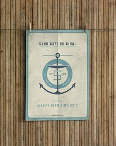 Posters for Syndicate Original by Ooli Mos, via #Behance #Design