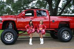 Girls like trucks.  Yes we do!