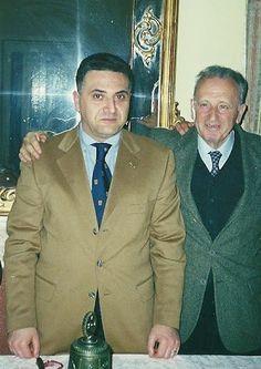 Il Presidente Rotary Club Pompei Oplonti Vesuvio Est Prof. Dr. Raimondo VILLANO con il Presidente della Commissione Interact del Distretto 2100-Italia Rotary International Prof. Nicola FESTINO (marzo 2001).