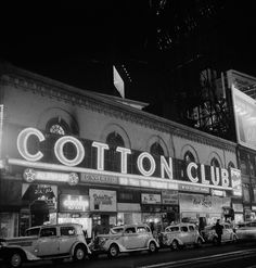 Taken in 1936, a photograph of Owney Madden's 'Cotton Club', a frequent meeting house in which public gatherings served as cover for illicit underground deals and other aspects of Madden's crime syndicate in New York City.