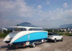 A solar boat that is easy to carry with you! Electric Boat, Open Water, Time Out, Solar, Train, Easy, Strollers