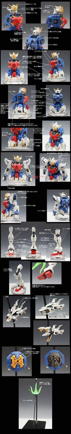 MG Shenlong Gundam EW: Improved Work by wire_effect Full Photoreview   GUNJAP
