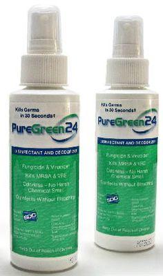 PureGreen 8 oz Hospital Grade Disinfectant