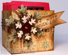Sassy & Sweet Notes: Holiday Projects
