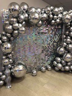 Birthday Goals, Adult Birthday Party, Birthday Party Themes, Disco Party Decorations, Birthday Balloon Decorations, Disco Theme, Party Events, Event Styling, Backdrops