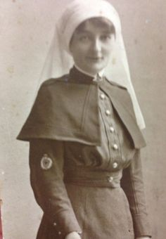 WWI Military Real Photograph OF AN Australian Nurse |