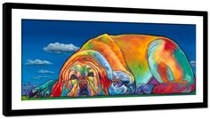 Framed Roselle Print by Ron Burns to support The Roselle's Dream Foundation $145